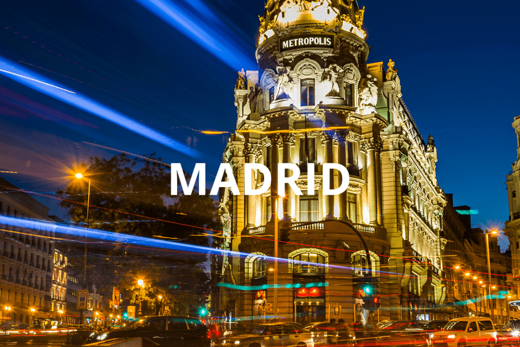 Espacios de eventos en Madrid