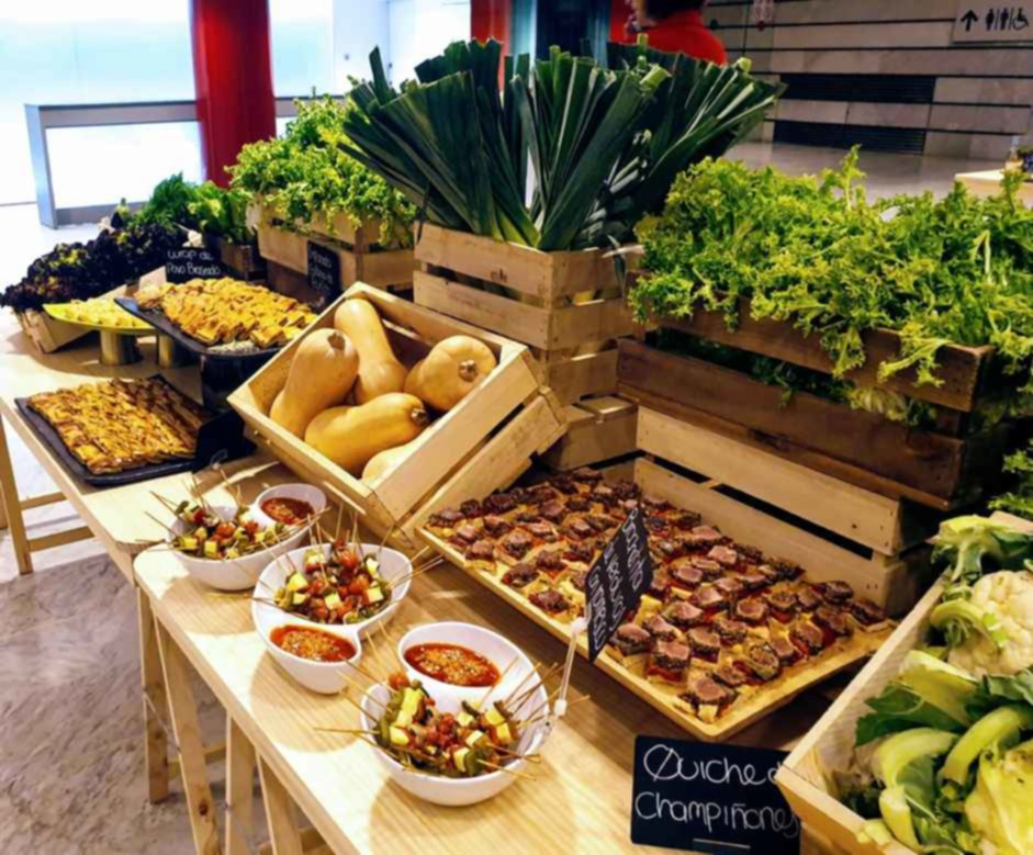 evento 100% sostenibles mice catering
