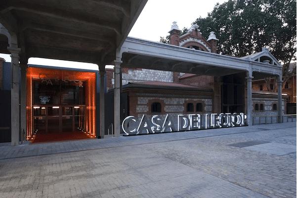 casa del lector madrid