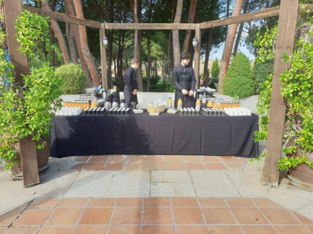 Evento de Decathlon celebrado en La Finca El Jardín Secreto