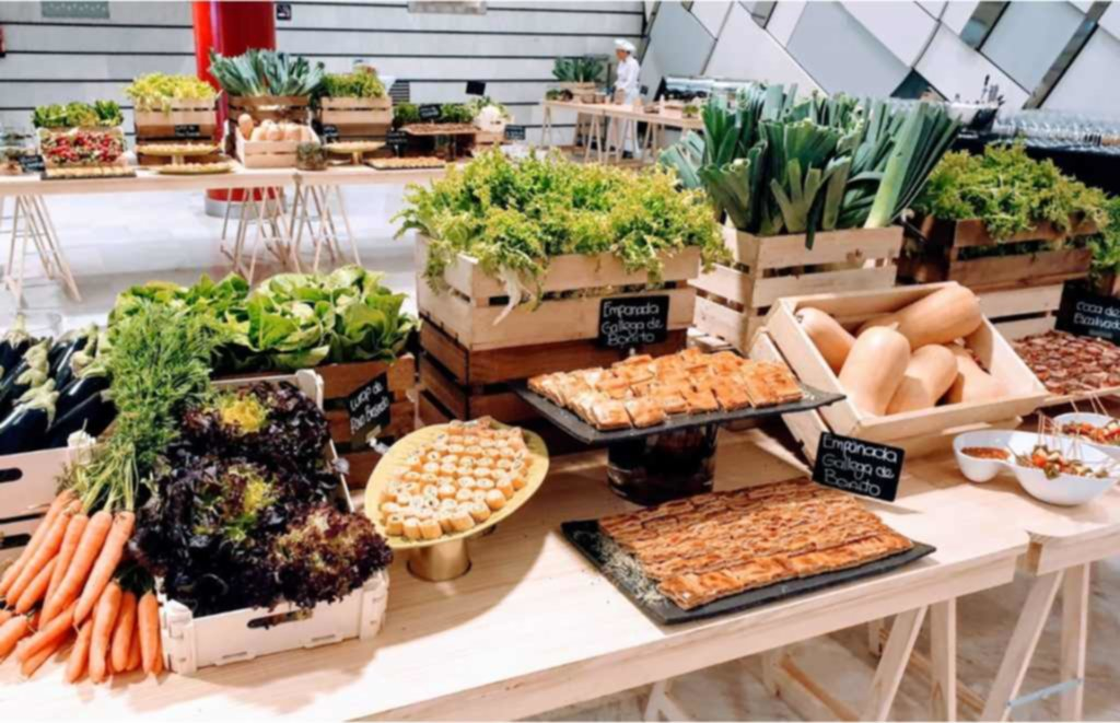 apuesta por la sostenibilidad mice catering