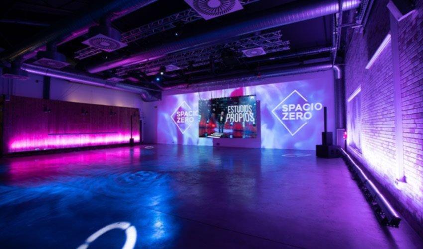 Spacio Zero tiene capacidad para más de 100 invitados