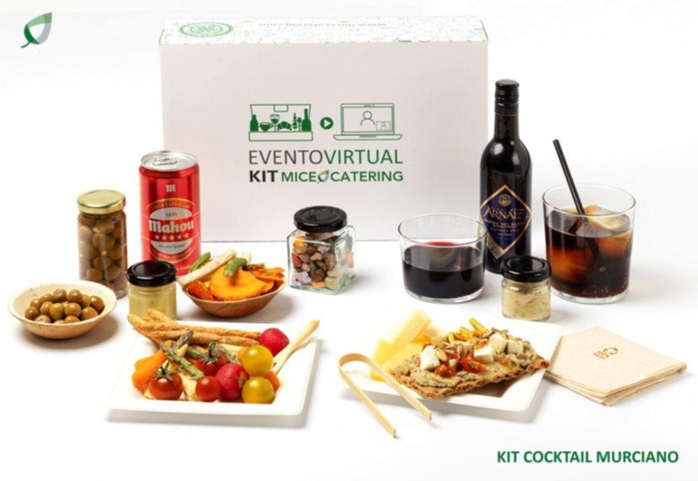 caja cocktail